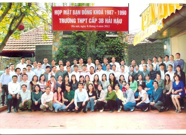Họp mặt lần thứ 1: 8/4/2012 - Hà Nội